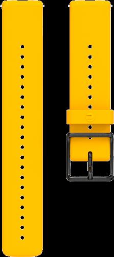 Polar Ignite Verwisselbare Silliconen Polsband - Geel/Zwart