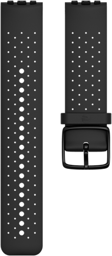Polar Vantage M Verwisselbare Silliconen Polsband - Zwart