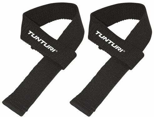 Tunturi Powerlifting Straps - Deadlift Straps - Per Paar