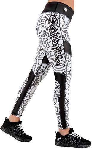 Gorilla Wear Pueblo Tights - Zwart/Wit