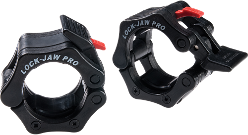 Body-Solid Lock-Jaw Collars - Zwart