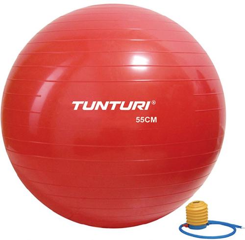 Tunturi Fitnessbal Gymbal Rood - 55 cm