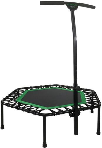 Tunturi Hexa Fitness Trampoline met verstelbare handgreep