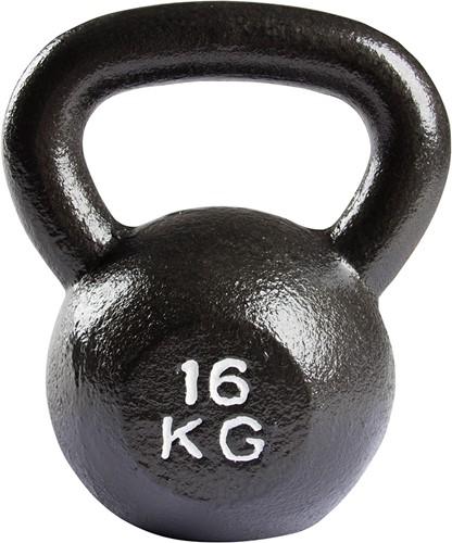 VirtuFit Kettlebell Pro - Kettle Bell - Gietijzer - 16 kg