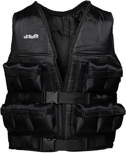 VirtuFit Verstelbaar Gewichtsvest Pro - 20 kg - Zwart - Tweedekans