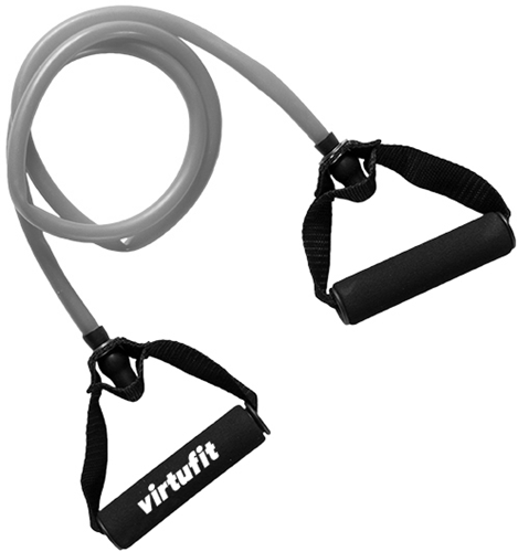 VirtuFit Weerstandskabel - Fitness Elastiek - Met Handvat - Medium