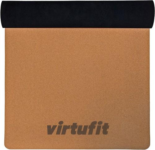 VirtuFit Premium Kurk Yogamat - 183 x 61 x 0,5 cm