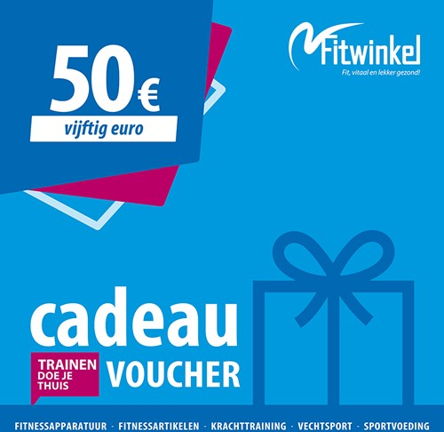 Fitwinkel Cadeaubon - 50 euro