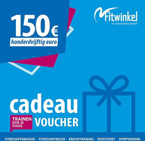 Fitwinkel Cadeaubon - 150 euro