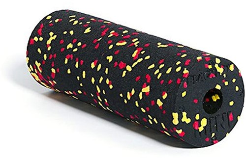 Blackroll Mini Foam Roller - 15 cm - Zwart / Rood / Geel